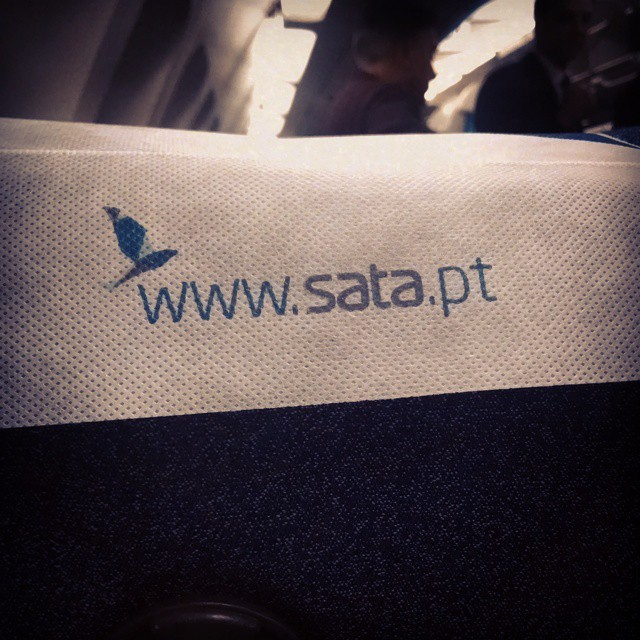 Ready for takeoff! #flight #flying #SATA #portugal #pontadelgada #destination #travel #traveller #adventure #solotravel